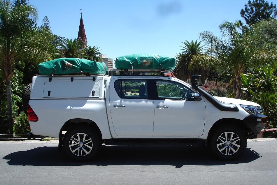 Toyota Hilux 2,4 4-Zelt